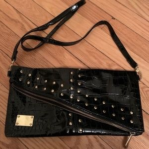 NWOT Studded Faux Leather Bag